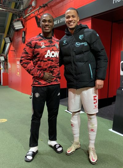Great To See My Big Brother Again'- Troost-Ekong Relishes Reunion With Ighalo