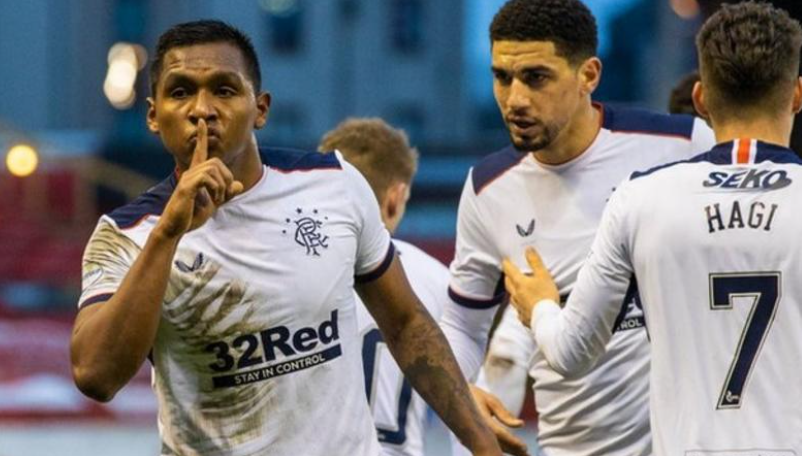 Scottish Premiership: Balogun, Aribo Take Rangers 22 Points Clear Of Celtic After Win At Aberdeen
