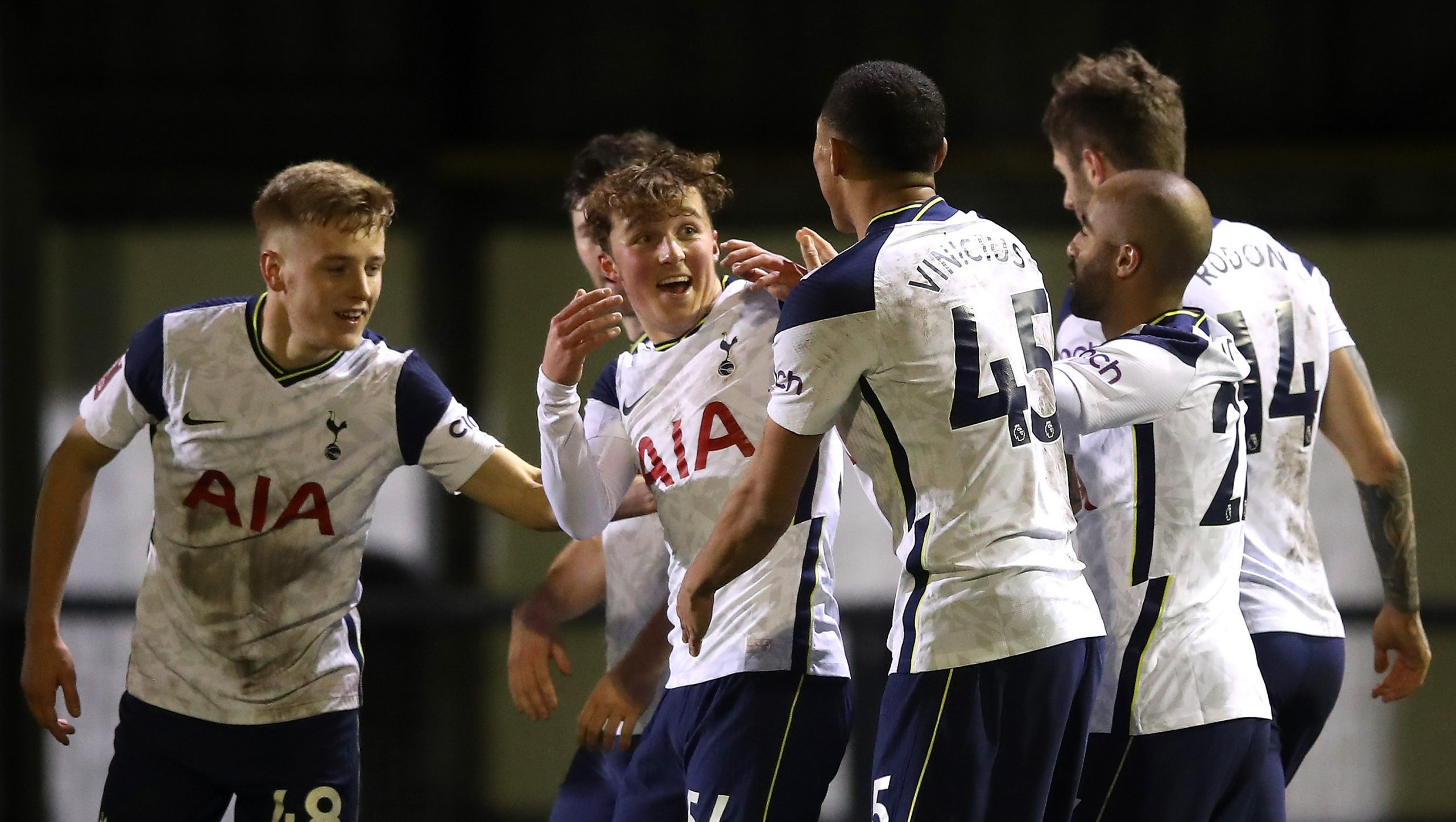 Spurs Hammer Eight Division Club Marine In FA Cup Clash