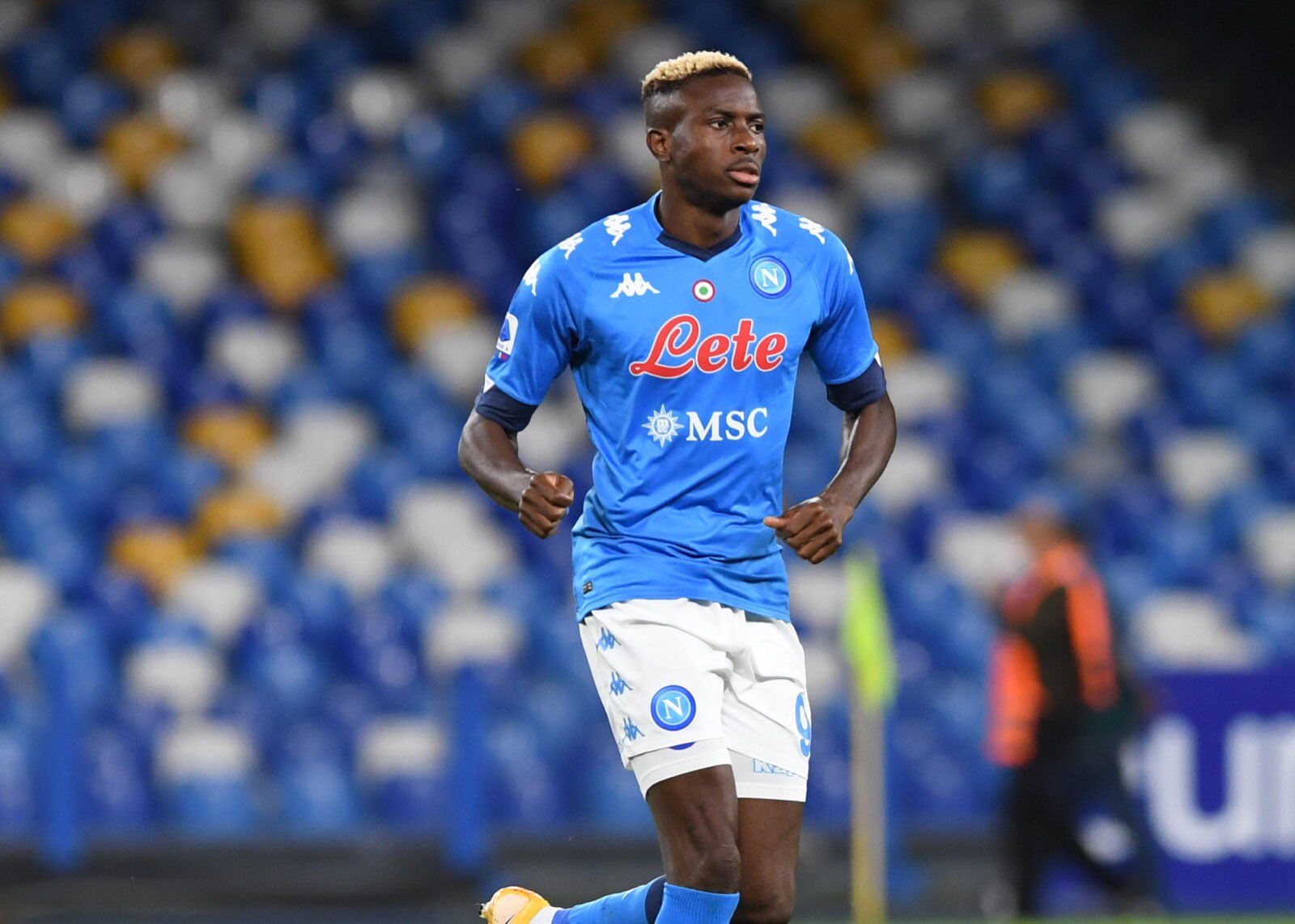 Napoli Confirm Osimhen Still Positive For Covid-19
