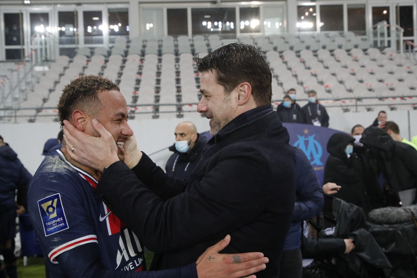 Pochettino Wins First Trophy Of Managerial Career As PSG Beat Marseille In French Super Cup