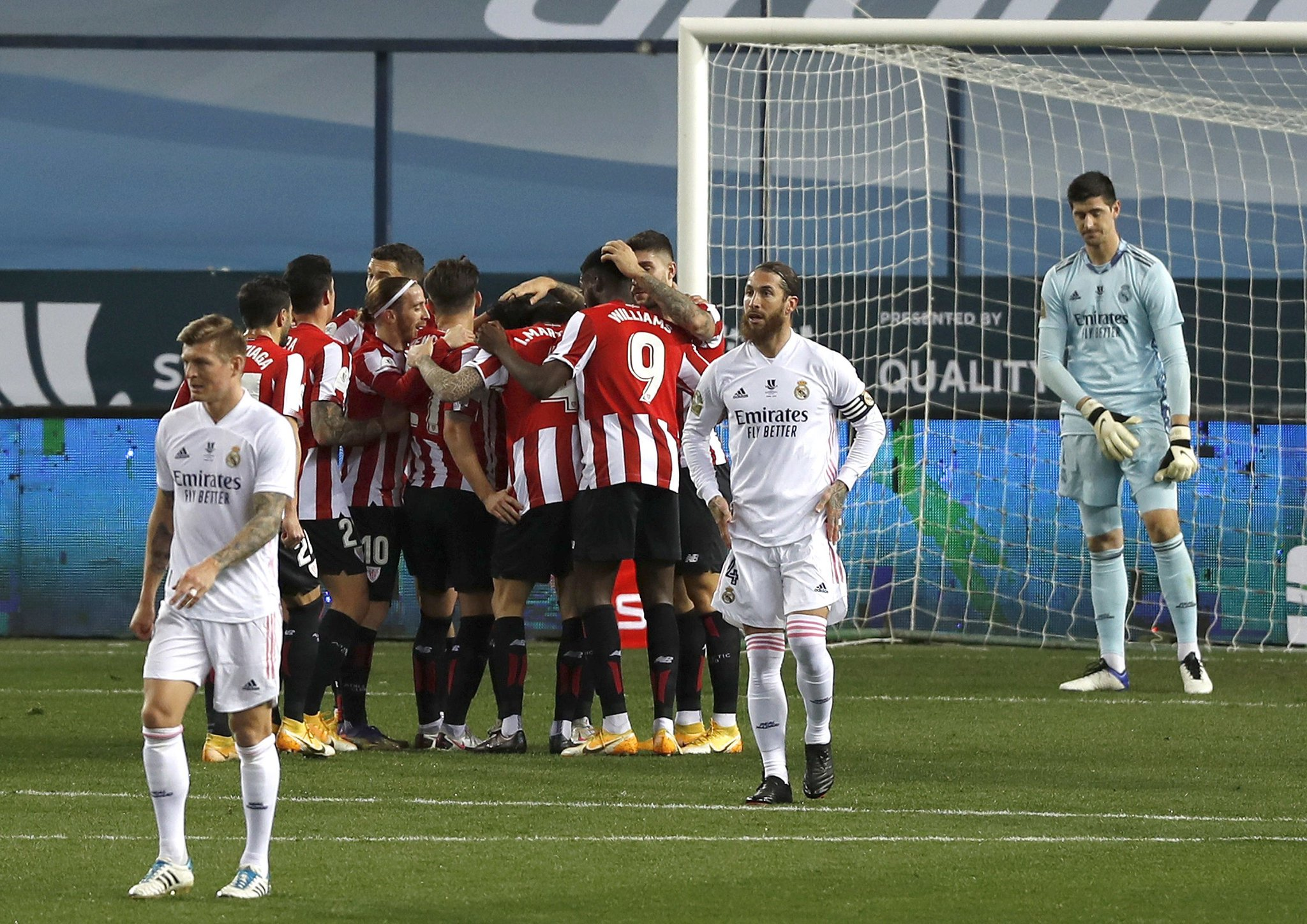 Athletic Bilbao Shock Real Madrid In Spanish Super Cup, To Face Barca In Final