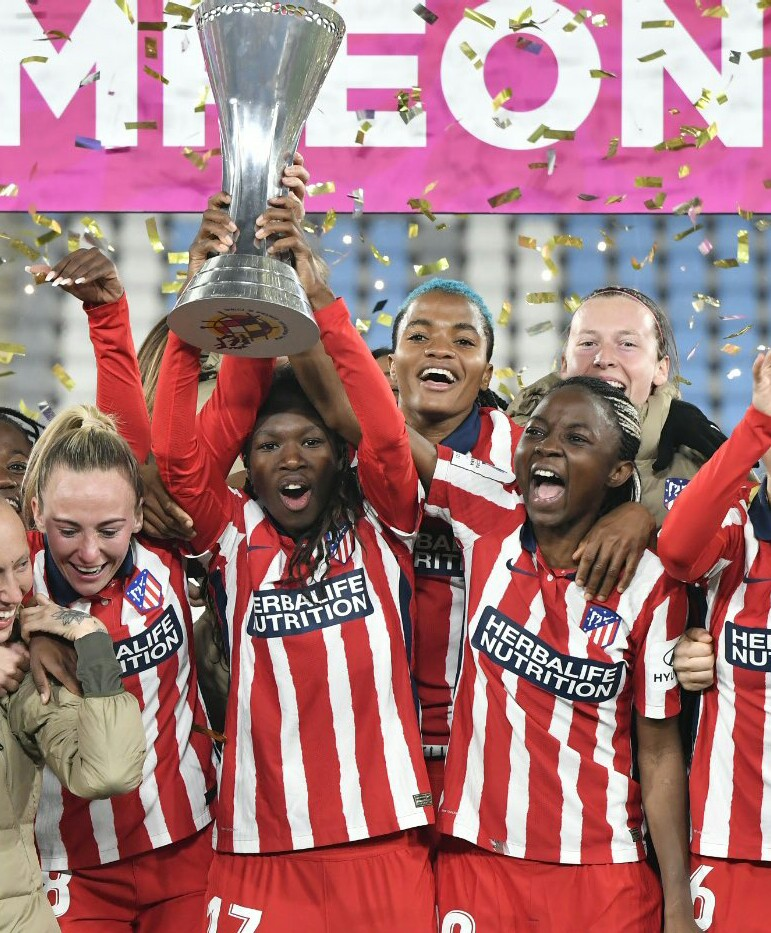 Ajibade Helps Atletico Madrid Win Spanish Women's Super Cup Title