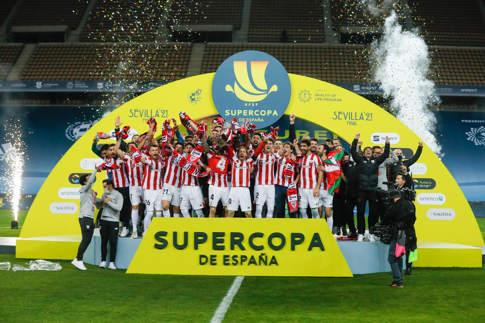 Spanish Super Cup Final: Messi Sent Off As Athletic Bilbao Shock Barca In Five-Goal Thriller
