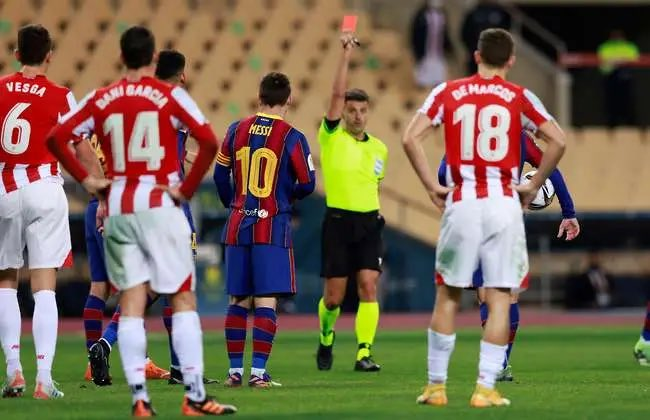 Messi Handed Two-Match Ban