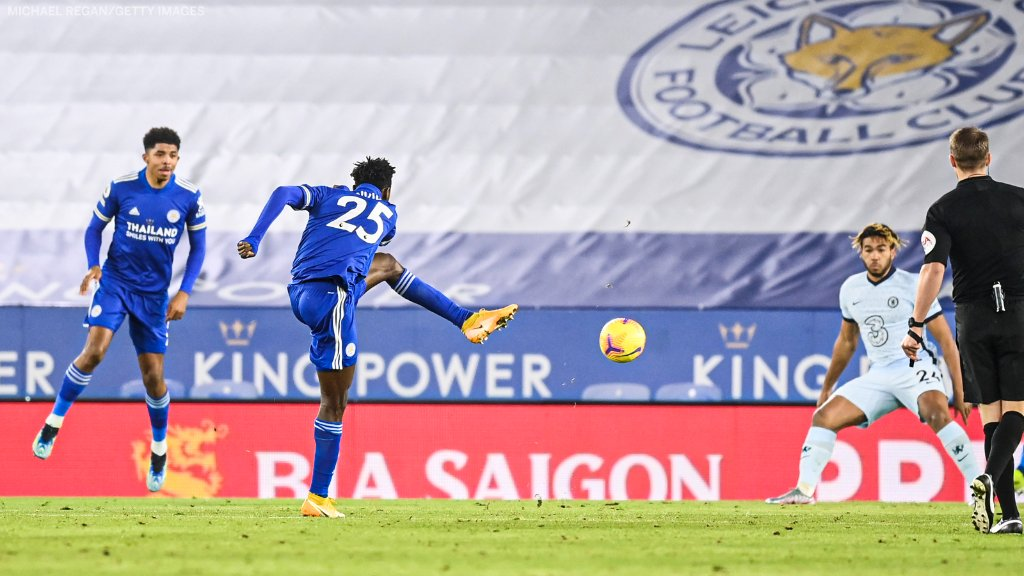 Ndidi Voted Third In Leicester's Man Of The Match Award After Chelsea Win