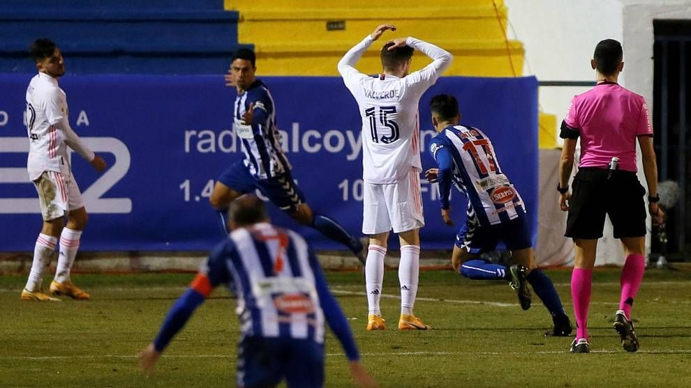 Third Division Alcoyano Dump Real Madrid Out Of Copa del Rey