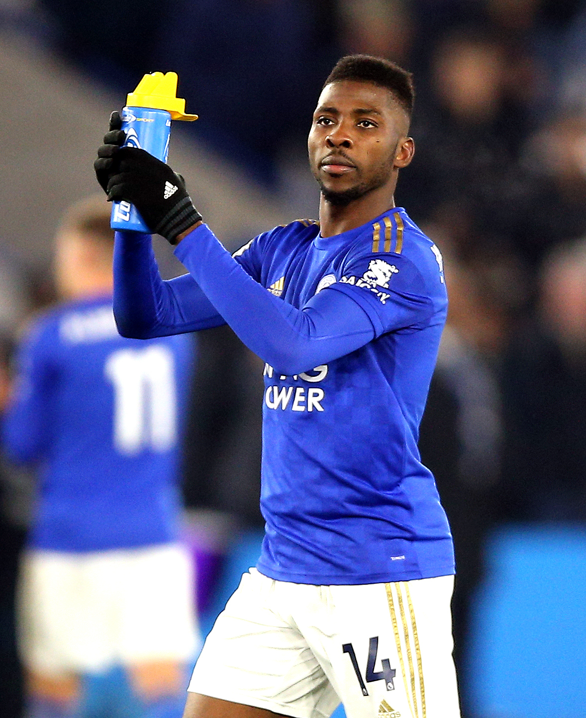 Heskey: Iheanacho Not Good Enough To Replace Vardy At Leicester City