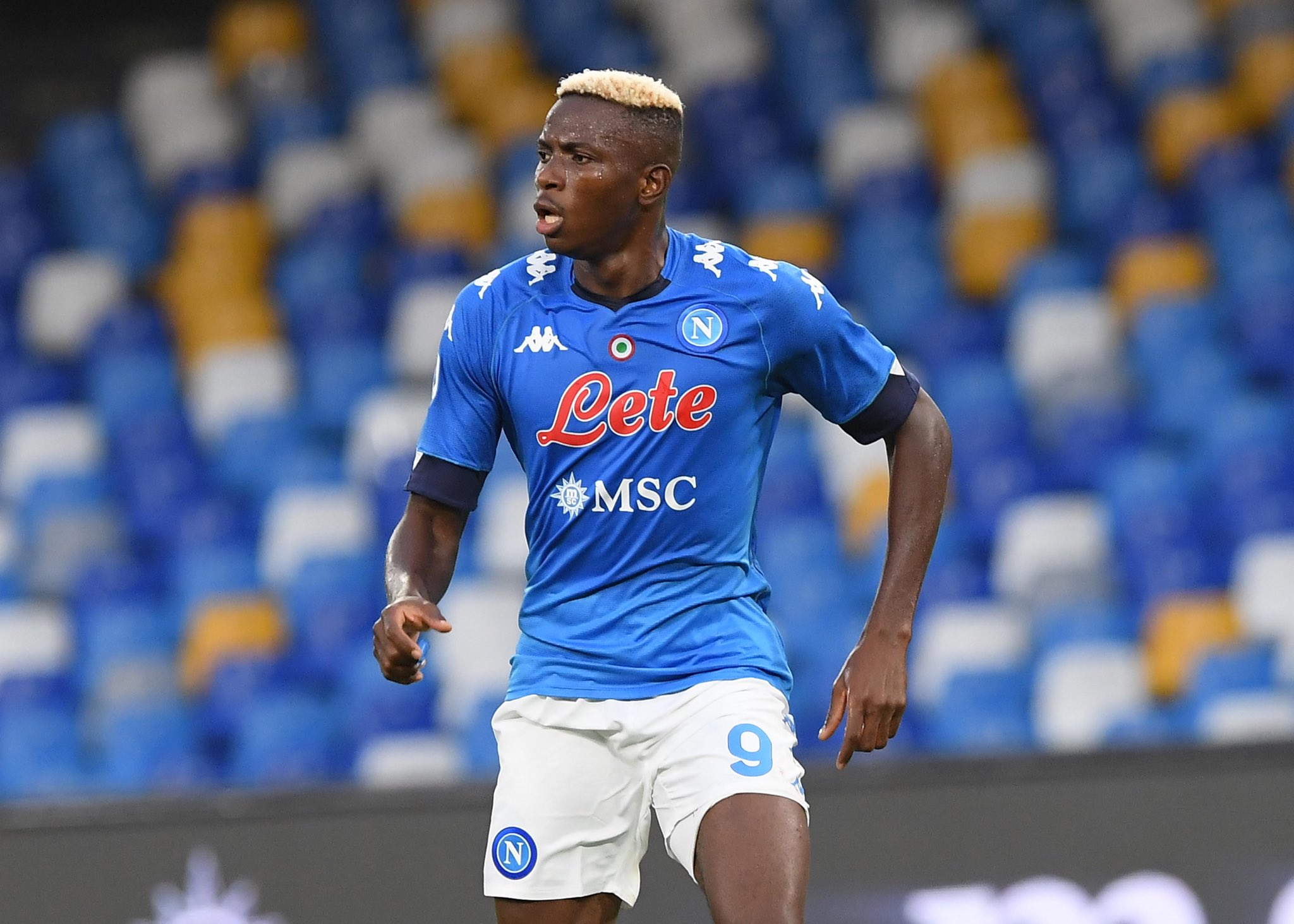Osimhen Named In Napoli Squad For Hellas Verona Clash