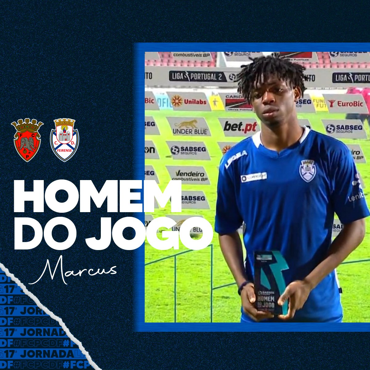 Nigerian Winger Bags 4th Man Of The Match Award In Portuguese League
