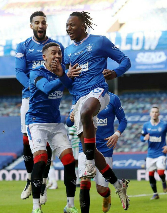 Aribo On Target  As Rangers Hammer Ross County, Go 23 Points Clear Of Celtic
