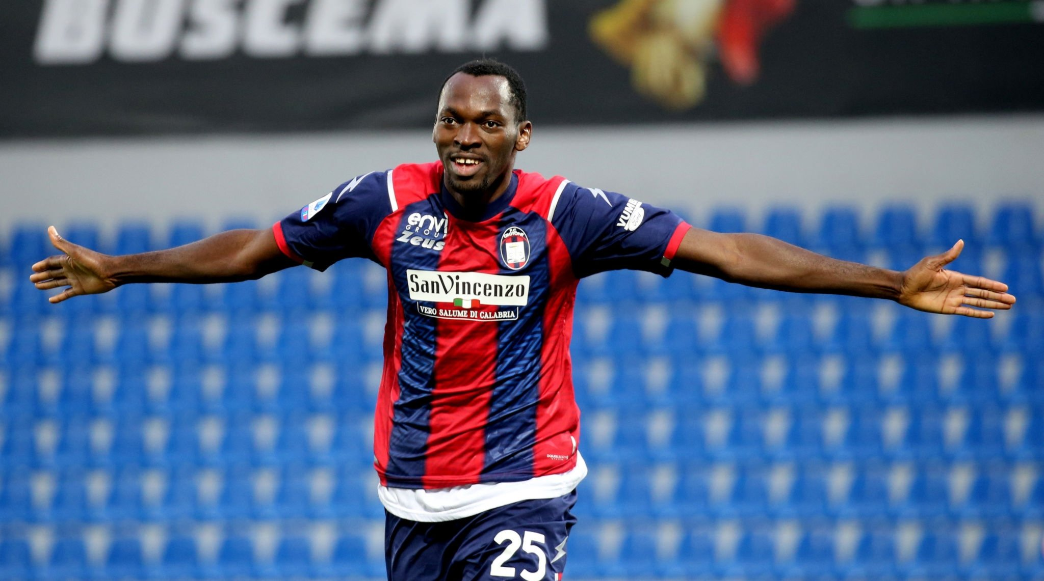 Serie A: Nwankwo Scores Again In Crotone's Defeat Away To Fiorentina