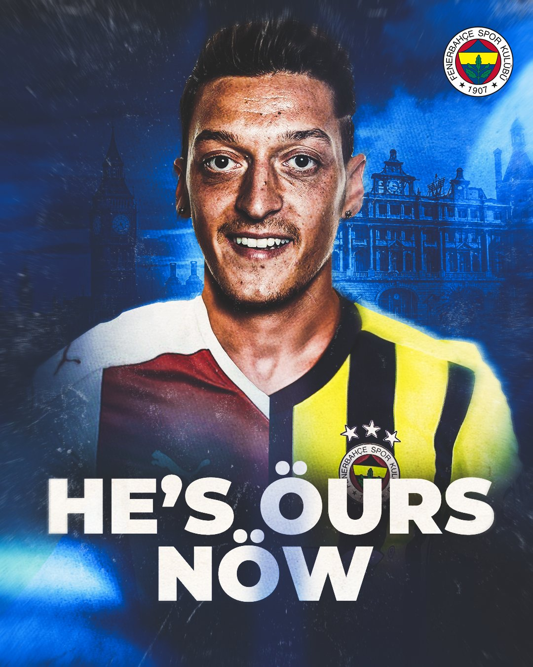 Arsenal Confirm Ozil Transfer To Fenerbahce