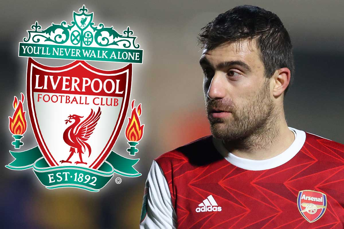 Liverpool Contact Ex-Arsenal Defender Sokratis Amid Centre-Back Crisis