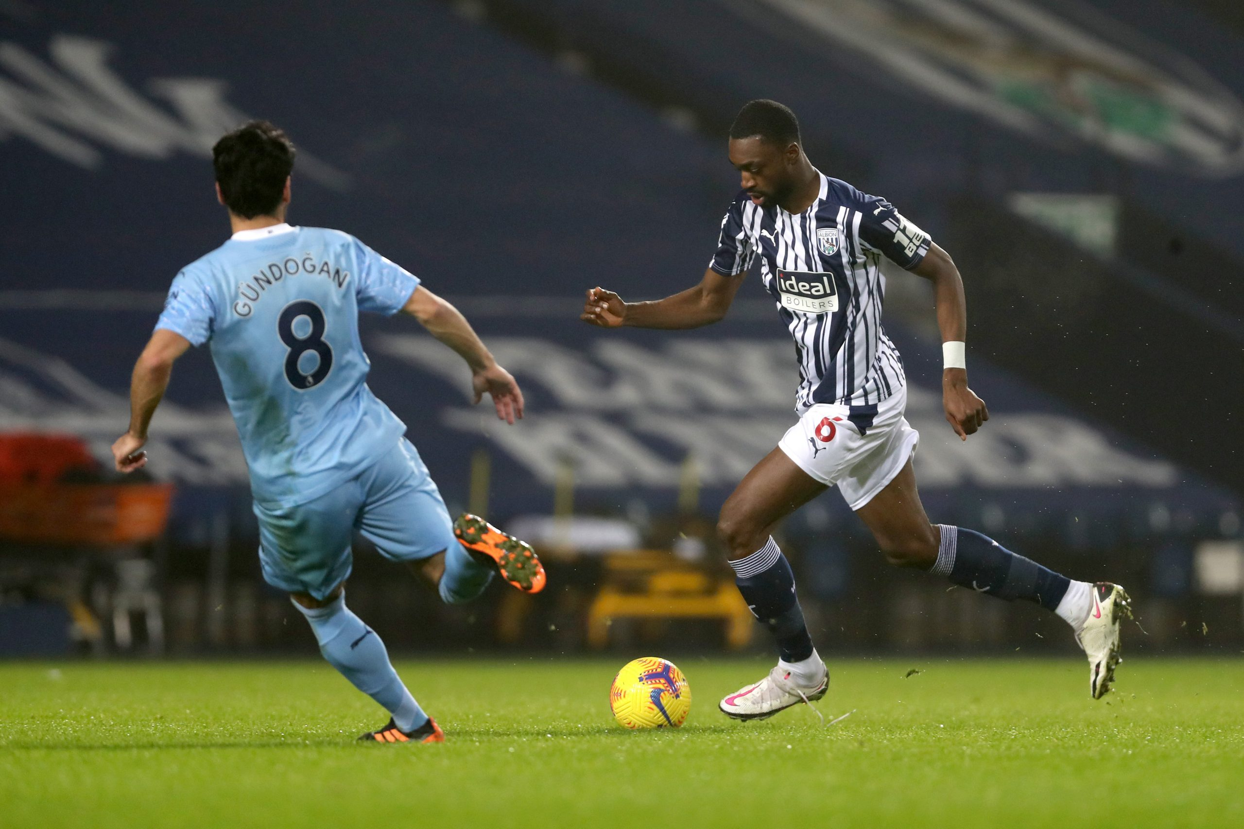 Premier League: Ajayi In Action As Man City Hammer West Brom; Saka On Target In Arsenal's Win At Southampton