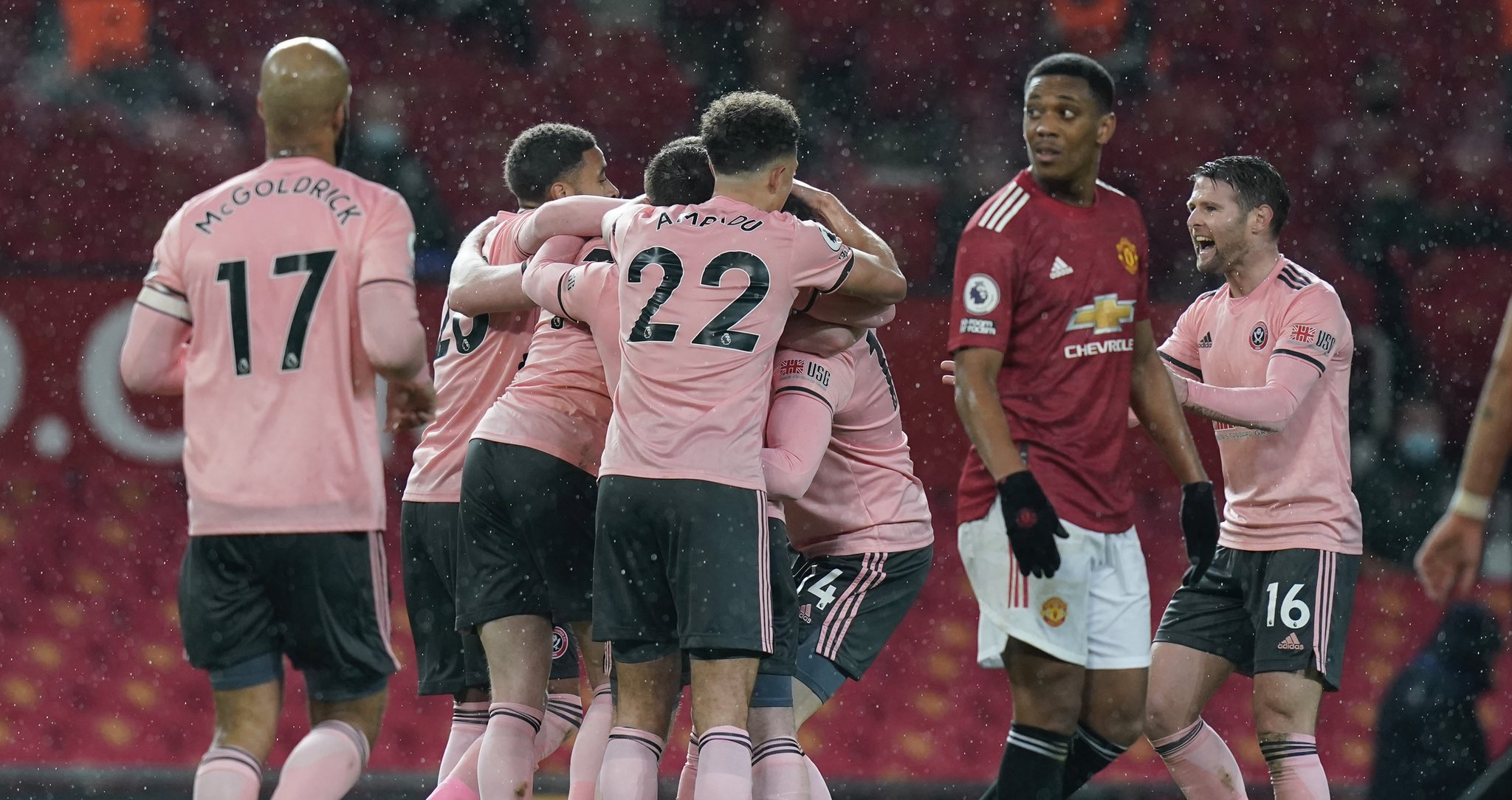 Premier League: Sheffield Claim First Win Away To Man United In 48 Years; Ndidi Injured In Leicester Draw At Everton