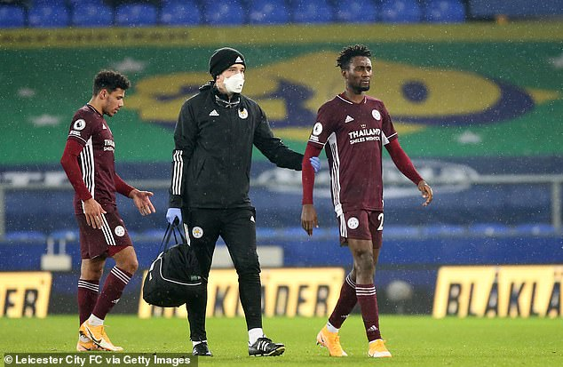 Injured Ndidi Out For 10 Days