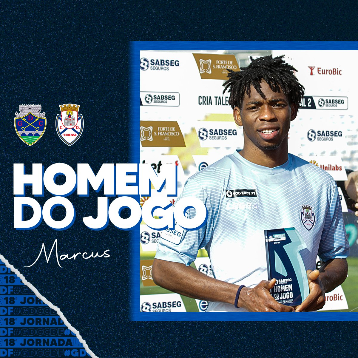 Nigerian Winger Marcus Scores Again, Claims 5th Man Of The Match Award In Feirense Away Win
