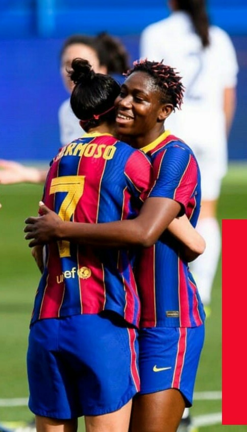 Oshoala Bags Brace Again As Barca Hammer Madrid