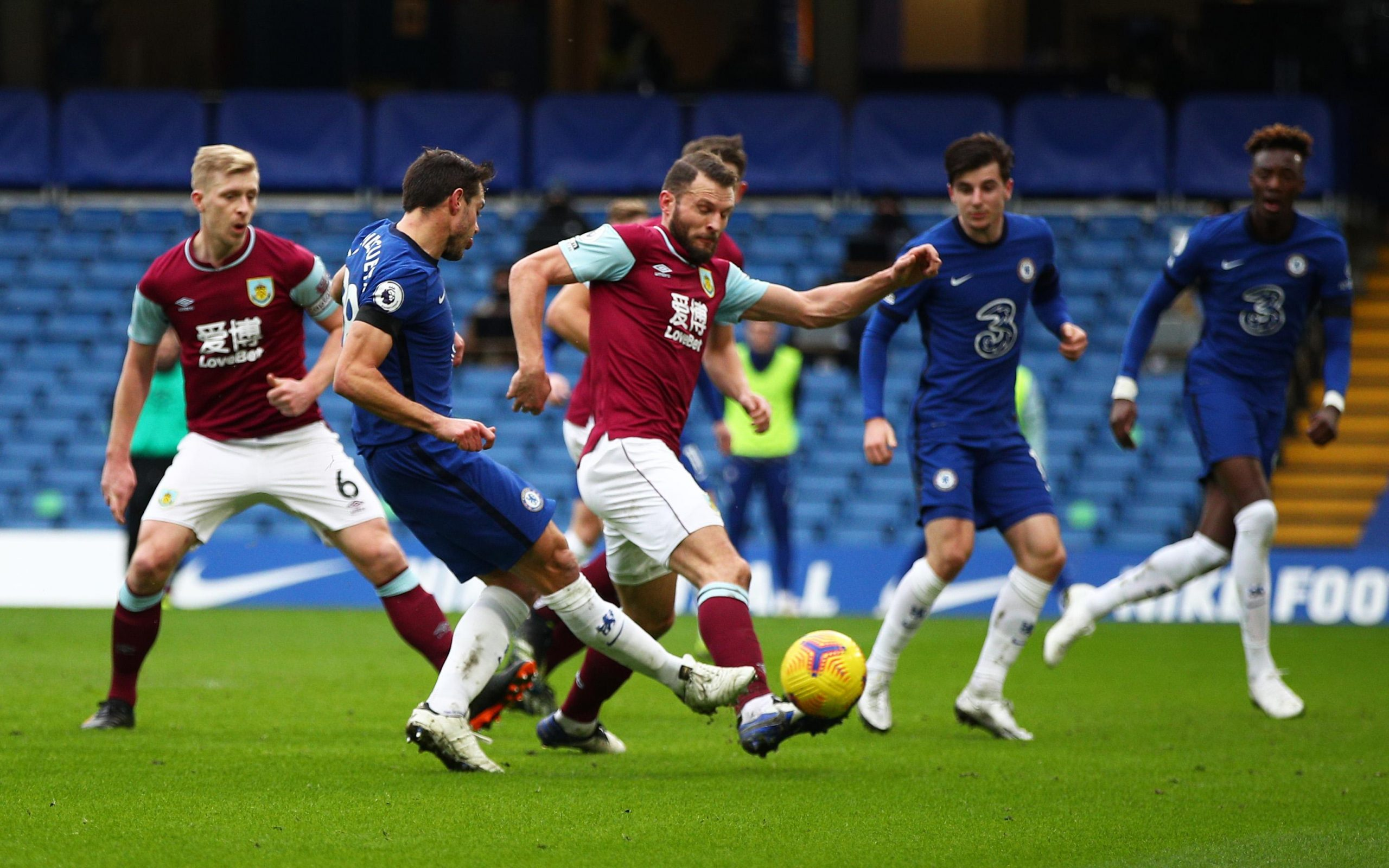Premier League: Chelsea Ease Past Burnley  To Hand Tuchel First Win