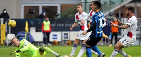 Serie A: Simy's Crotone Suffer Heavy Defeat At Inter Milan