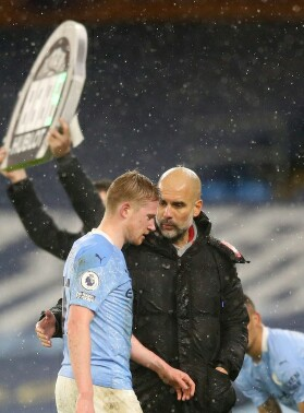 De Bruyne Out For Six Weeks With Hamstring Injury