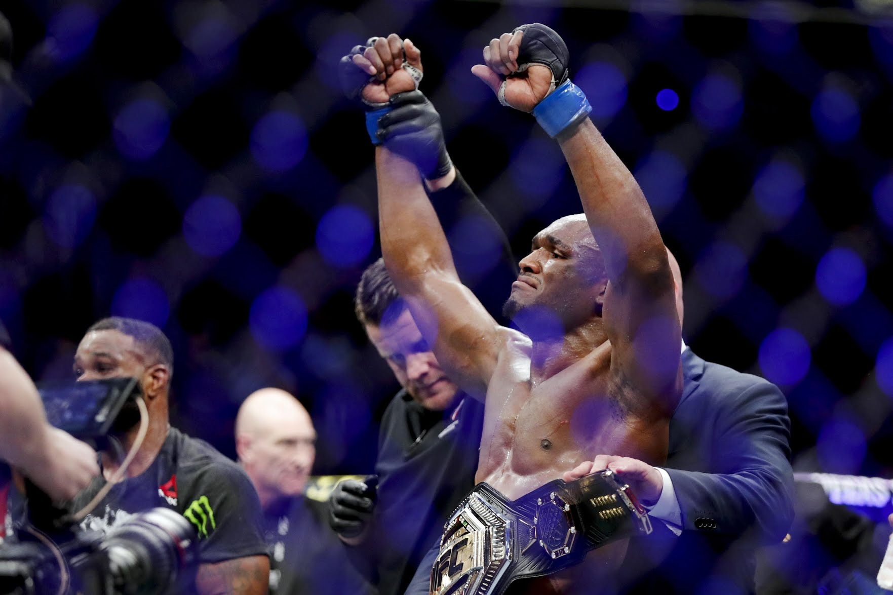Nigeria's Usman Sets Record In Welterweight Title Defence Win
