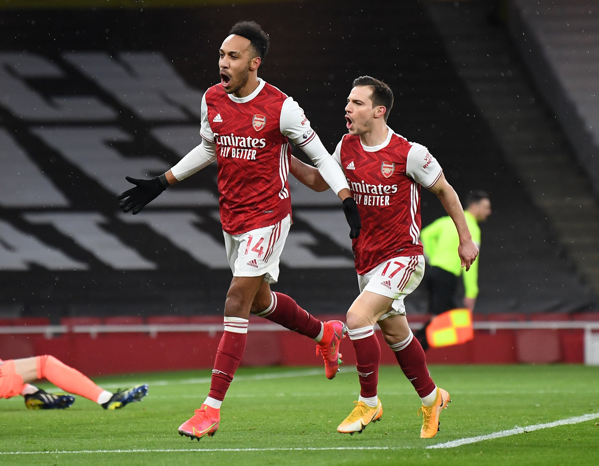 Aubameyang Nets First Premier League Hat-trick As Arsenal See Off Leeds