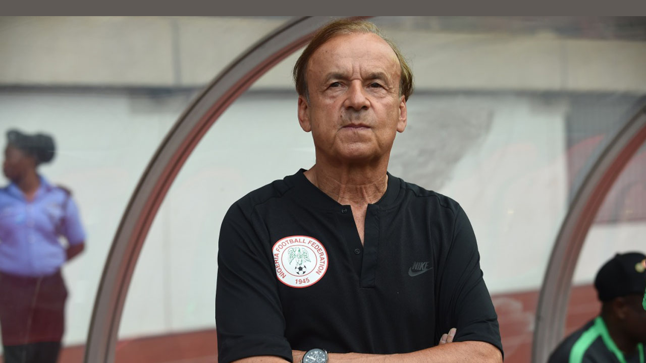 Rohr Expresses Concern Over Performance Of Super Eagles Defenders Ahead AFCON Qualifiers