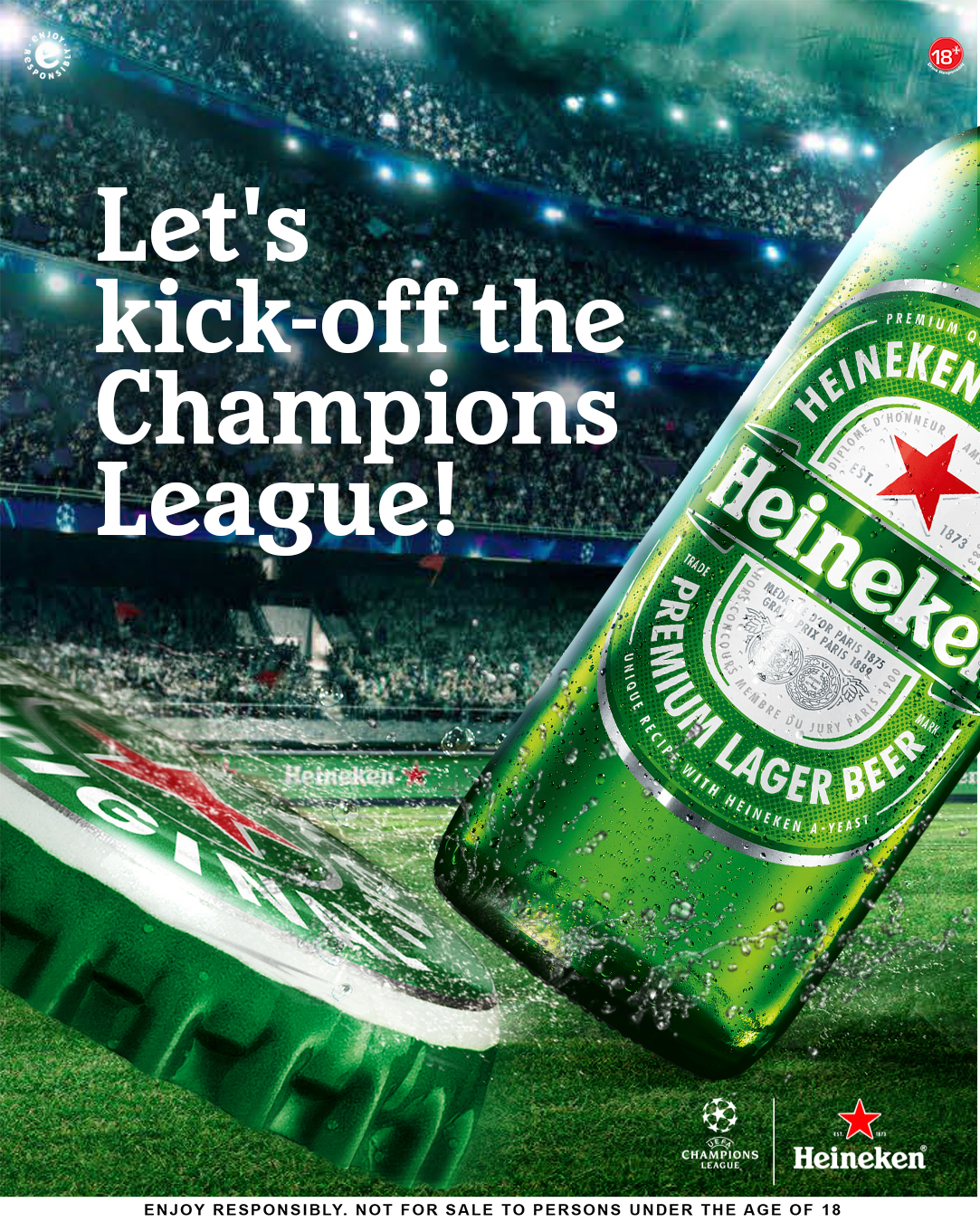 The UCL Wait Is Over And Heineken Wants Fans To #ShareThePassion In New Campaign