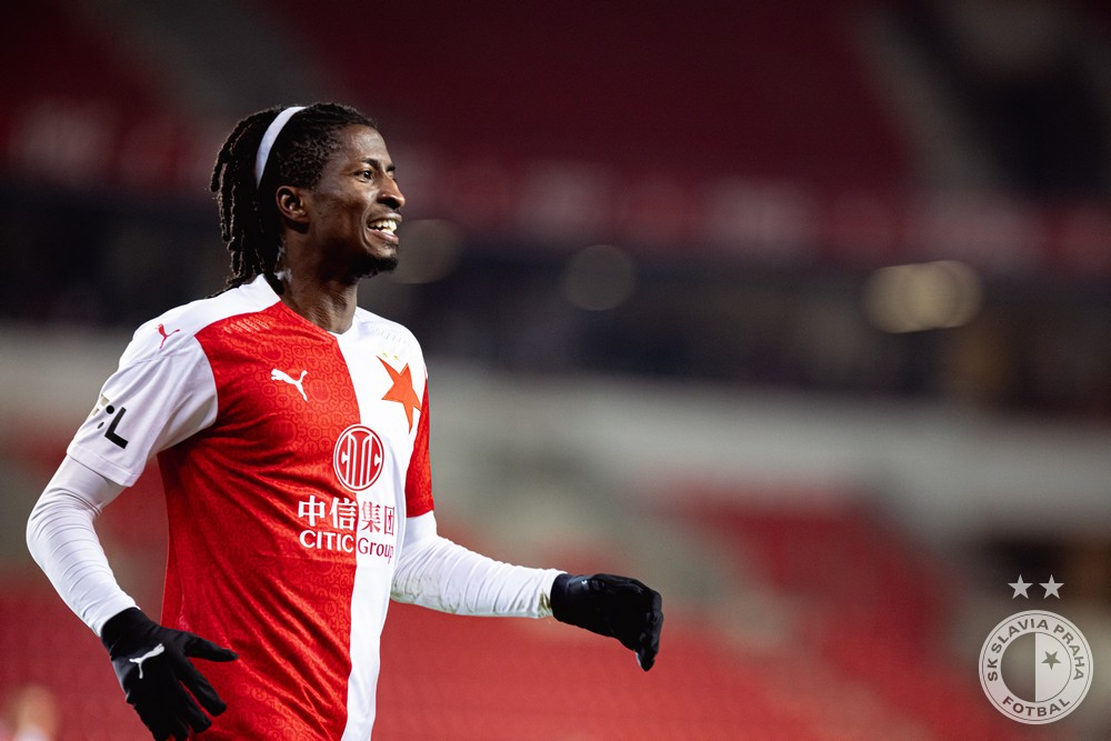 Olayinka Reflects On Slavia Prague's Win Vs Jablonec