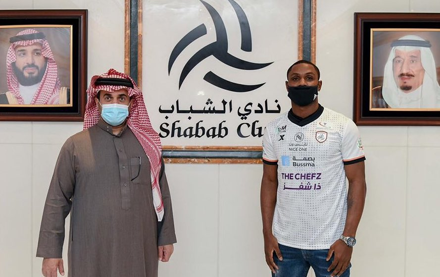 Done Deal: Ighalo Joins Saudi Club Al Shabab From Shanghai Shenhua