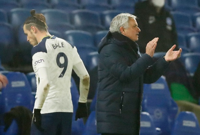 Mourinho Unhappy With Bale Over Instagram Post