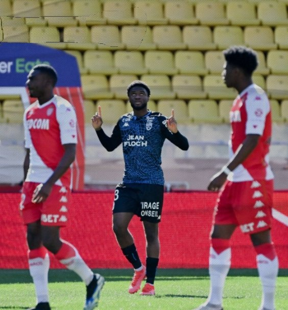 Ligue 1: Moffi Bags Brace In Lorient's Draw At AS Monaco
