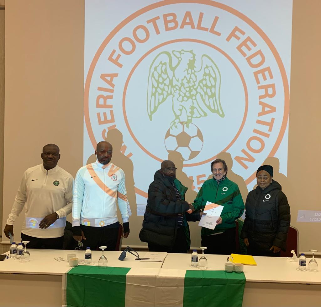 Official: Super Falcons Coach Waldrum Signs Agreement With NFF