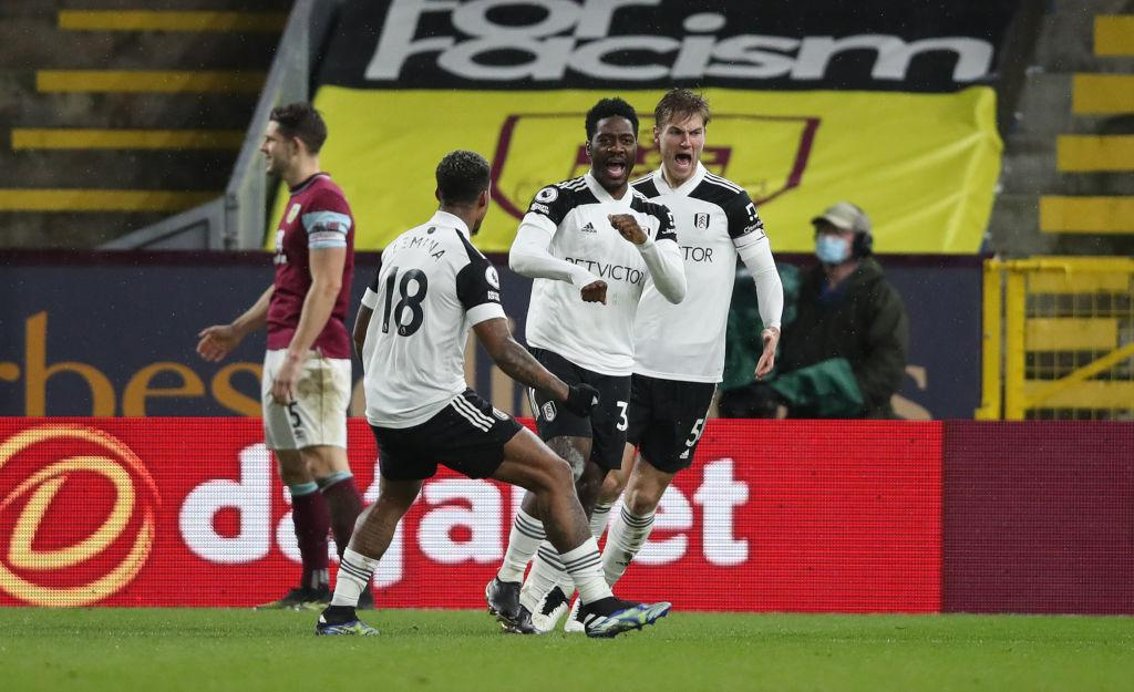 Premier League: Aina On Target  As Fulham, Burnely Share Points At Turf Moor