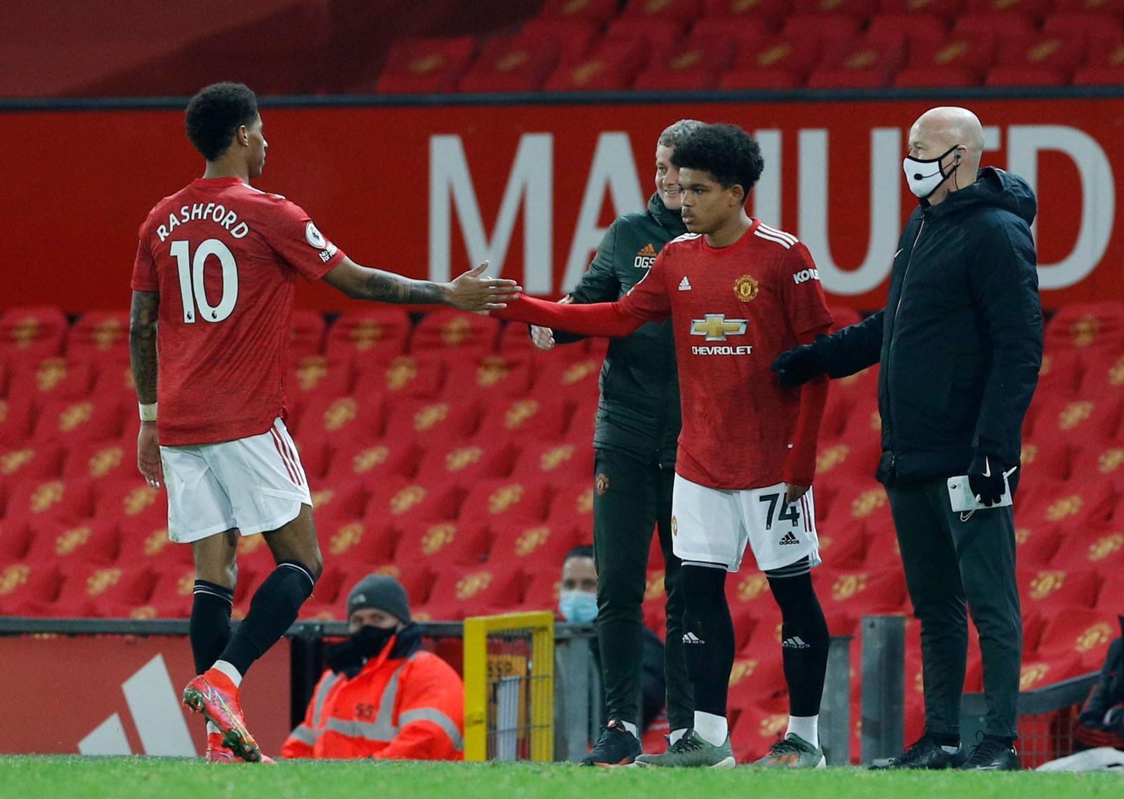 Nigeria's Shoretire Thrilled With Manchester United Debut