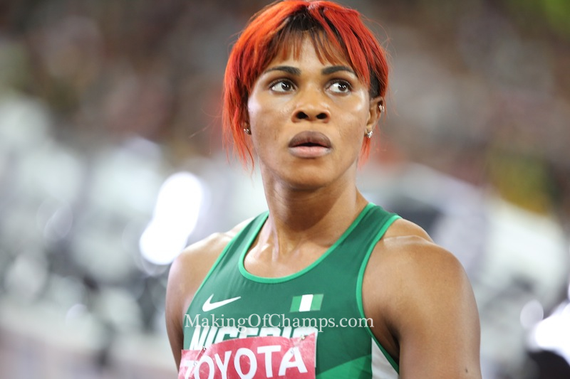 Breaking:Okagbare Set For First 200m Indoor Race In 10 Years