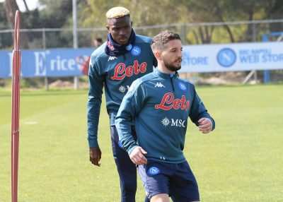 Osimhen Trains Again With Rest Of The Group Ahead Bologna Clash