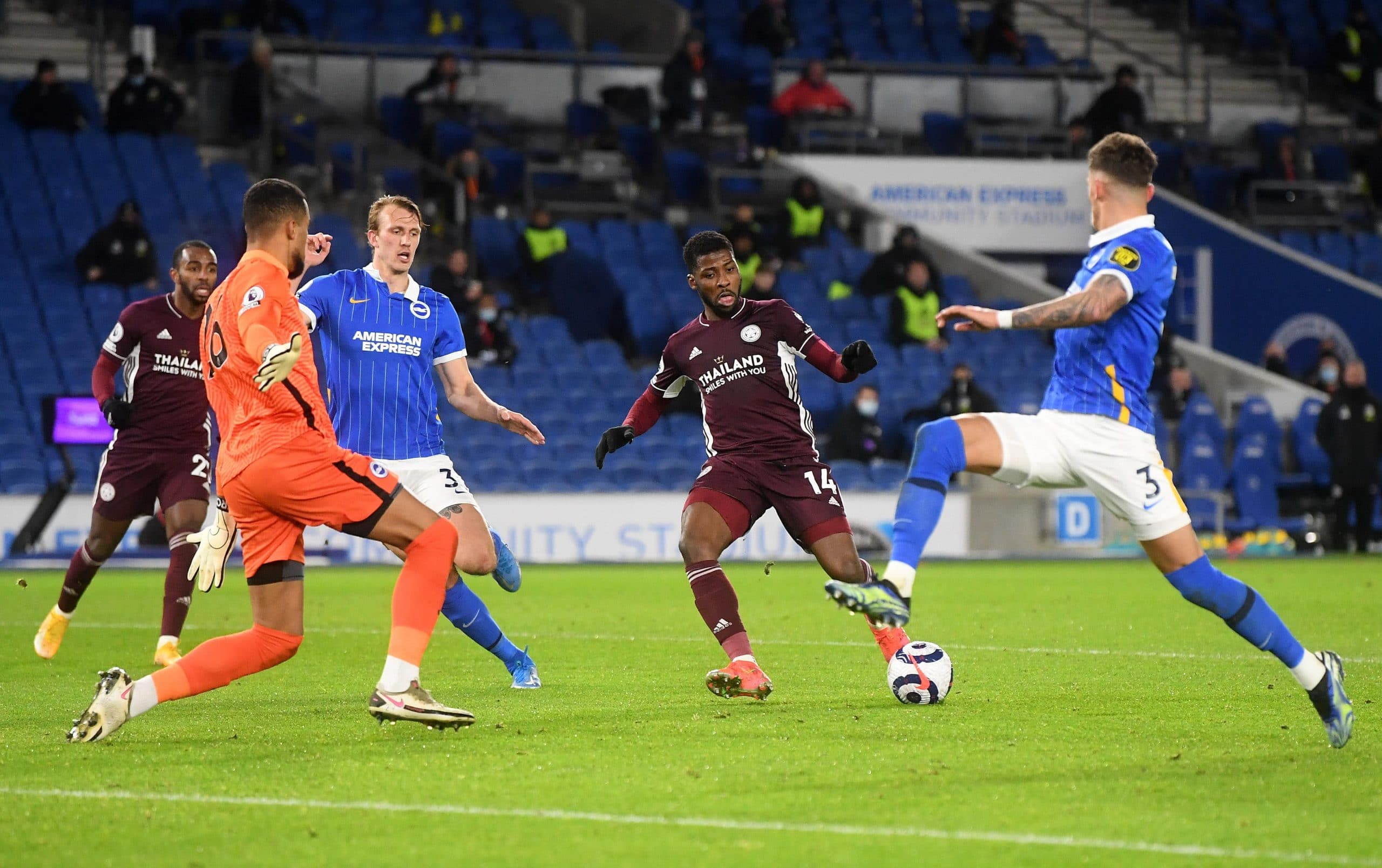 Iheanacho: Leicester City Had Hunger To Beat Brighton