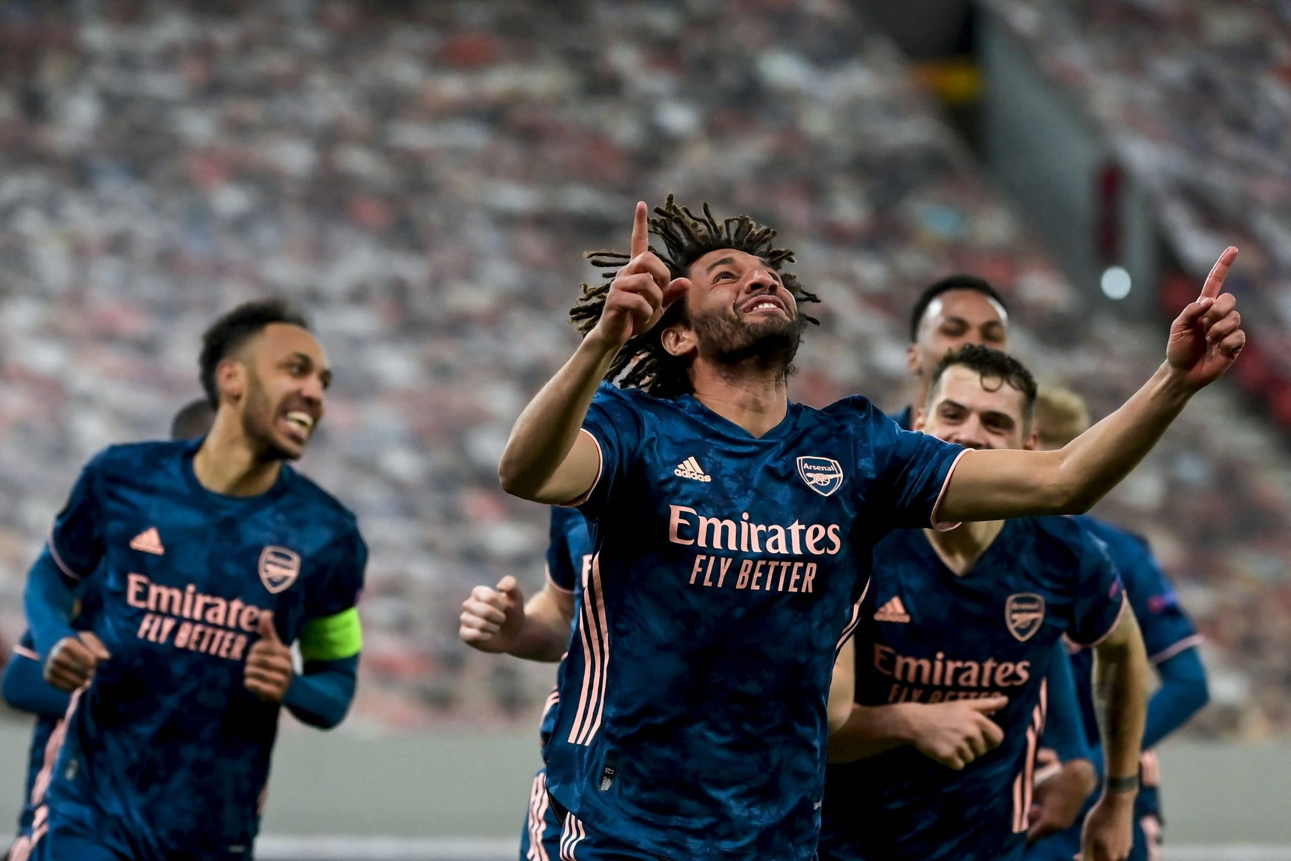 Arsenal Claim Comfortable First-Leg Away Win Vs Olympiacos