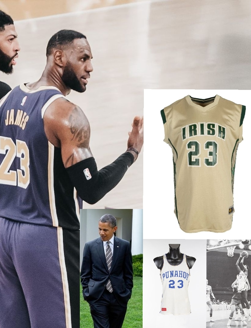James' School Jersey Replaces Obama's As World's Costliest